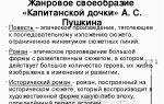 """Стиль и язык романа """"капитанская дочка"""" пушкина: художественные особенности"""