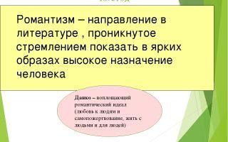 """Литературное направление рассказа """"старуха изергиль"""" горького"""