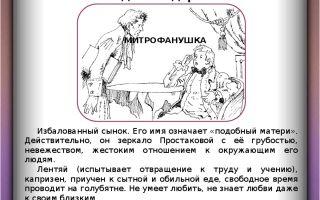 """Тема материнской любви в комедии """"недоросль"""": отношение простаковой к сыну митрофану"""