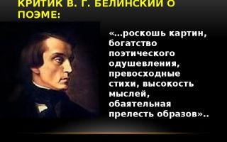 """Критика о поэме """"демон"""" лермонтова: отзывы современников и критиков"""