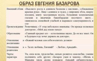 """Образ евгения базарова в романе """"отцы и дети"""": описание личности, характера и внешности в цитатах"""