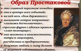 """Cемья простаковых в комедии """"недоросль"""": характеристика, описание в цитатах"""