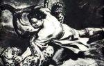 """Бой с барсом в поэме """"мцыри"""" лермонтова (отрывок): поединок, схватка, борьба с барсом"""