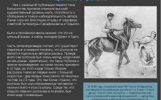 """Критика о романе """"тихий дон"""" шолохова: анализ, отзывы современников"""
