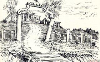 """Усадьба и деревня манилова в """"мертвых душах"""": описание поместья, имения"""