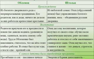 """Образование и воспитание андрея штольца в романе """"обломов"""" гончарова"""