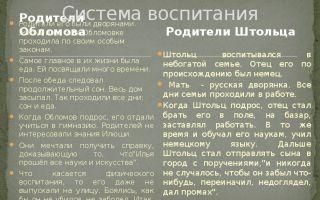 """Семья, родители и происхождение андрея штольца в романе """"обломов"""" гончарова"""