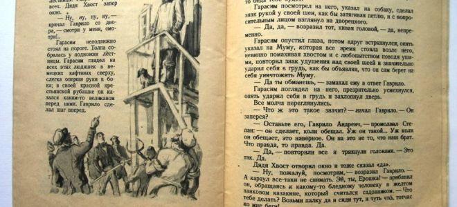 "Дядя хвост в рассказе ""муму"" тургенева: характеристика, образ, описание"