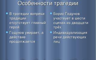 """Композиция трагедии """"борис годунов"""": анализ особенностей"""