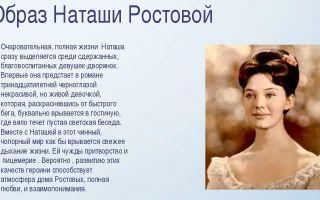 """Образ и характеристика наташи ростовой в романе """"война и мир"""": описание внешности и характера, портрет"""