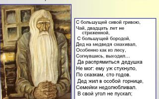 """Савелий в поэме """"кому на руси жить хорошо"""": образ, характеристика, описание, портрет богатыря святорусского савелия"""