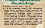 """История создания пьесы """"вишневый сад"""" чехова: история написания, отзывы автора"""