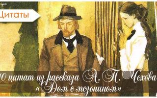 """Цитаты из рассказа """"дом с мезонином"""" чехова"""