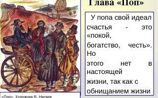 """Поп в поэме """"кому на руси жить хорошо"""": образ, характеристика, описание"""