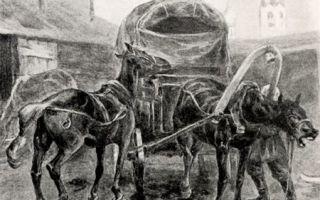 """Бричка и кони чичикова в поэме """"мертвые души"""" гоголя: описание в цитатах"""
