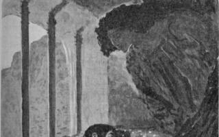 """Иллюстрации к поэме """"демон"""" лермонтова (рисунки, картинки)"""