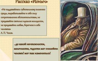 """Краткий пересказ рассказа """"ионыч"""" чехова по главам (краткое содержание)"""