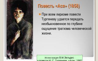 """Цитаты из повести """"ася"""" тургенева: интересные высказывания"""