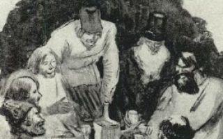 """Крестьяне в поэме """"кому на руси жить хорошо"""": образы, характеристика, описание характеров и внешности мужиков"""