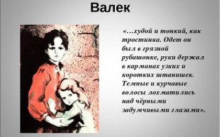 """Валек в рассказе """"дети подземелья"""" короленко: образ и характеристика, описание в цитатах"""
