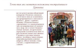 "Образ и характеристика хрюкина в рассказе ""хамелеон"" чехова"