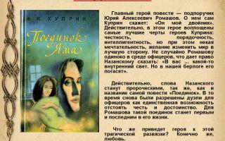 """Цитаты из повести """"поединок"""" куприна"""
