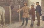 """Иллюстрации к поэме """"мертвые души"""" гоголя художника п. п. соколова (рисунки, картинки)"""