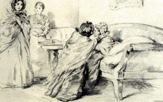 """Княжна алина в романе """"евгений онегин"""" пушкина: характеристика в цитатах"""