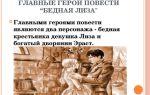 """Герои повести """"бедная лиза"""" карамзина: главные и второстепенные персонажи (список)"""