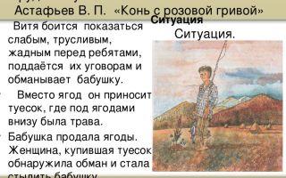 """Главный герой рассказа """"конь с розовой гривой"""" астафьева: характеристика вити"""