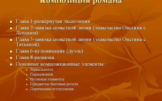 "Композиция романа ""евгений онегин"" пушкина, фабула и особенности произведения"