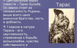 """Жена тараса бульбы в повести """"тарас бульба"""" (характеристика, описание)"""