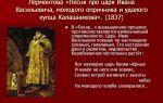 """Образ и характеристика ивана грозного в поэме """"песня про царя ивана васильевича…"""" лермонтова: описание в цитатах"""