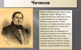 """40 вопросов о чичикове из поэмы """"мертвые души"""" с ответами: анализ произведения"""