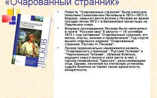 """Критика о повести """"очарованный странник"""" лескова, отзывы современников"""