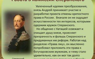 "Сперанский в романе ""война и мир"": образ и характеристика, описание в цитатах"