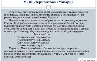 """Вопросы и ответы по поэме """"мцыри"""" лермонтова: материалы для теста"""