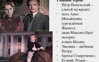 """Анна михайловна попельская в повести """"слепой музыкант"""" короленко"""