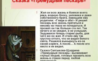 """Анализ сказки """"премудрый пискарь"""" салтыкова-щедрина: идея, тема, проблемы, смысл, главная мысль"""