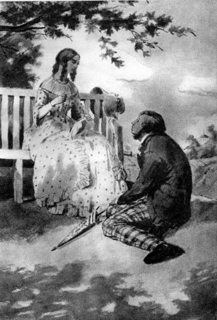 Иллюстрации к роману обломов с пояснениями